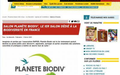 (Media) – On parle de Planète Biodiv dans la Presse !