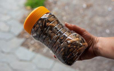 Planète Biodiv' et Recyclop partenaires pour contribuer à la protection de l'environnement en luttant contre le rejet des mégots de cigarettes dans Marseille.